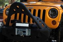 """Truck-Lite - Truck-Lite 7"""" Round LED Headlamp - Fits Jeep Wrangler JK TJ CJ or any 7"""" Round H4 Style - PAIR - Image 4"""