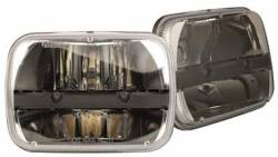 "Shop By Brand - Truck-Lite - Truck-Lite - Truck Lite 5""x7"" Rectangular LED Headlamp Kit fits Jeep Cherokee XJ Comanchee MJ or Jeep Wrangler YJ DOT Approved By RIGID INDUSTRIES"