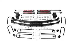 "1969-1972 Chevy/GMC Pickup/Blazer/Jimmy/Suburban - Rough Country - Rough Country - Rough Country 1969-1972 Chevy / GMC 4WD Pickup / SUV 4"" Suspension Lift Kit - 100.20"