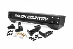 Jeep Wrangler TJ / LJ 97-06 - Front Bumpers & Stingers - Rough Country - Rough Country 97-06 Jeep Wrangler TJ Front Stubby Bumper - 1011