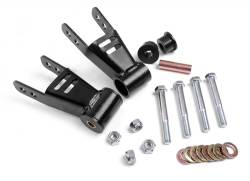 Rough Country - Suspension Components - Rough Country - Rough Country Jeep Cherokee XJ Adjustable Rear Shackles - 1077