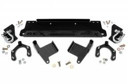 Jeep Wrangler JK 07-18 - Front Bumpers & Stingers - Rough Country - Rough Country 2007-2018 Jeep JK Factory Bumper Winch Mounting Plate - 1162