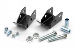 Suspension Build Components - Shocks - Rough Country - Rough Country Jeep Wrangler TJ / LJ Rear Shock Relocation Kit - 1185