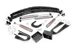 "CHEVY / GMC - 1988-98 Chevy / GMC 3/4 Ton Pickup - Rough Country - Rough Country 4"" Suspension Lift Kit for Chevy/GMC 1977-1991 2500 Pickup/Suburban - 150.20"
