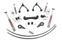 "1988-98 Chevy / GMC 1/2 Ton Pickup - Rough Country - Rough Country - Rough Country 1988-1999 Chevy / GMC 1500 Pickup / SUV 2-3"" Suspension Lift Kit   -170.20-170P"