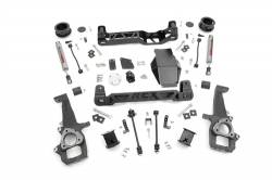 "DODGE - 2009-12 Dodge 1/2 Ton Pickup - Rough Country - Rough Country 2009-2011 Dodge Ram 4wd  1500 4"" Suspension Lift Kit  -328S"