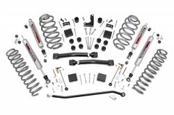 "Jeep - Jeep WJ Grand Cherokee 99-04 - Rough Country - Rough Country 1999-2004 WJ Grand Cherokee 4"" X-series Suspension Lift Kit   - 639P"