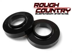 """Jeep JK Wrangler 07+ - Rough Country - Rough Country - Rough Country 2007-2017 Jeep Wrangler JK/JKU 0.75"""" Leveling Spacers Suspension Lift -7597"""