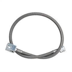 "Rubicon Express - Rubicon Express BRAKE LINE SS REAR 24"" 97-06 Jeep Wrangler TJ/LJ"