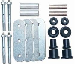 "Suspension Build Components - Shackles - Rubicon Express - Rubicon Express SHACKLE CONVERSION KIT REAR 2.5"" WIDE 76-86 Jeep CJ/PAIR  -RE2786"