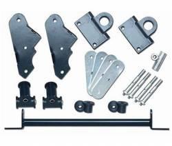 "Suspension Build Components - Shackles - Rubicon Express - Rubicon Express SHACKLE REVERSE KIT FRONT 1.0"" 87-95 Jeep Wrangler YJ"