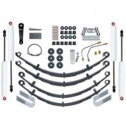 "Suspension Lift Kits - Jeep Wrangler YJ 87-95 - Rubicon Express - Rubicon Express STANDARD KIT 87-95 Jeep Wrangler YJ 4.0"" (INCLUDES SHOCKS)   -RE5515"