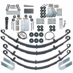 "Suspension Lift Kits - Jeep Wrangler YJ 87-95 - Rubicon Express - Rubicon Express EXTREME-DUTY KIT 87-95 Jeep Wrangler YJ 4.5"" (NO SHOCKS)   -RE5520"