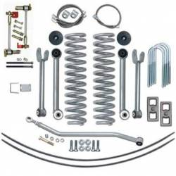 "Suspension Lift Kits - Jeep Cherokee XJ 84-01 - Rubicon Express - Rubicon Express SUPER-FLEX KIT W/ADD-A-LEAFS 84-01 Jeep Cherokee XJ 4.5"" (NO SHOCKS)  -RE6111"