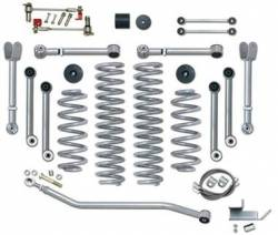 "Suspension Lift Kits - Jeep Wrangler LJ 03-06 - Rubicon Express - Rubicon Express SUPER-FLEX SHORT ARM KIT 97-06 Jeep Wrangler TJ/LJ 3.5"" (NO SHOCKS)   -RE7000-3"