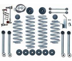 "Suspension Lift Kits - Jeep Wrangler LJ 03-06 - Rubicon Express - Rubicon Express SUPER-FLEX SHORT ARM KIT 97-06 Jeep Wrangler TJ/LJ 3.5"" (NO SHOCKS)"