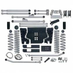 "Jeep TJ Wrangler 97-06 - Rubicon Express - Rubicon Express - Rubicon Express EXTREME-DUTY LONG ARM KIT 97-06 Jeep Wrangler TJ 97-02 3.5"" (NO SHOCKS)"