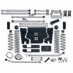 "Jeep TJ Wrangler 97-06 - Rubicon Express - Rubicon Express - Rubicon Express -DUTY LONG ARM KIT Jeep Wrangler TJ 03-06 4.5"" (NO SHOCKS)  -RE7214"