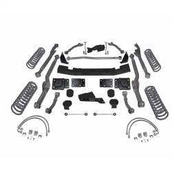 """Jeep JK Wrangler 07+ - Rubicon Express - Rubicon Express - Rubicon Express EXTREME-DUTY LONG ARM KIT 07-16 Jeep Wrangler JK 4 DOOR 3.5"""" (NO SHOCKS)  -RE7363"""