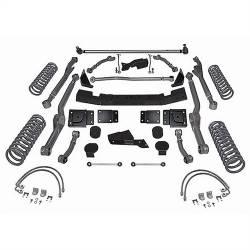 """Jeep JK Wrangler 07+ - Rubicon Express - Rubicon Express - Rubicon Express EXTREME-DUTY LONG ARM KIT 07-16 Jeep Wrangler JK 4 DOOR 4.5"""" (NO SHOCKS)  -RE7363"""
