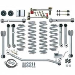 "Suspension Lift Kits - Jeep Grand Cherokee ZJ 93-98 - Rubicon Express - Rubicon Express SUPER-FLEX SHORT ARM KIT Jeep Grand Cherokee ZJ 93-98 4.5"" (NO SHOCKS)  -RE8000"