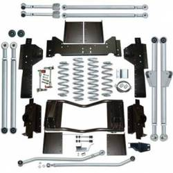 "Suspension Lift Kits - Jeep Grand Cherokee ZJ 93-98 - Rubicon Express - Rubicon Express EXTREME-DUTY LONG ARM KIT Jeep Grand Cherokee ZJ 93-98 4.5"" (NO SHOCKS)   -RE8300"