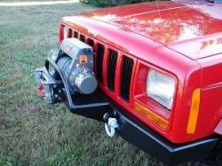 Jeep Cherokee XJ 84-01 - Front Bumpers & Stingers - Rock Hard 4x4 - ROCKHARD 4X4 Jeep Cherokee XJ & MJ Comanchee Front Bumper  -RH1015