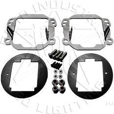 RIGID INDUSTRIES - Rigid Jeep Wrangler JK 07-18 Fog Light Kit - RIG40138