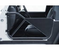 Smittybilt - SRC Tubular Doors Rear 97-06 Wrangler TL/LJ Black Textured SmittyBilt - Image 3