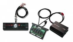 Shop By Brand - sPod Switch Panel Systems - sPod - 1997-2006 Jeep TJ / LJ 6 sPOD Switch Panel System With Air Gauge - 510-97_03