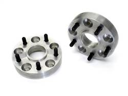 "Wheel Spacers & Adapters - Jeep YJ, TJ, ZJ, XJ, MJ Comanche, 02-04 Liberty - TeraFlex - TeraFlex TJ/XJ/YJ/ZJ Wheel Spacer KIT Pair 5 on 4.5"" (1"" Thick)"