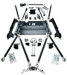 TeraFlex - Suspension Systems - TeraFlex - TeraFlex TJ Pro LCG Coilover Lift Kit (No Springs)