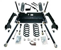 "Jeep TJ Wrangler 97-06 - TeraFlex - TeraFlex - TeraFlex TJ 3"" Enduro LCG Long Flexarm Suspension System w/ 9550 Shocks"