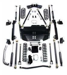 "TeraFlex - Suspension Systems - TeraFlex - TeraFlex TJ 5"" Pro LCG Lift Kit w/ All (4) Shocks (Ships in 10 Boxes)"