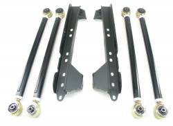 Jeep TJ Wrangler 97-06 - TeraFlex - TeraFlex - TeraFlex TJ Lower Long Flex Arm Kit w/ Brackets (Ships in 3 Boxes)