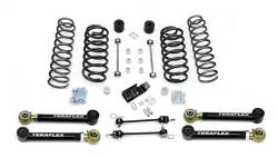 "Jeep TJ Wrangler 97-06 - TeraFlex - TeraFlex - TeraFlex TJ/LJ 3"" Suspension System w/4 Flexarms - No Shocks"