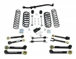 "Jeep TJ Wrangler 97-06 - TeraFlex - TeraFlex - TeraFlex TJ 3"" Lift Kit w/ Flex Arms , Front Track Bar (Ships in 3 Boxes)"