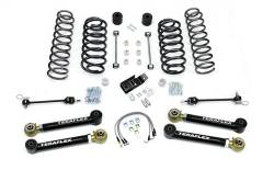 "Jeep TJ Wrangler 97-06 - TeraFlex - TeraFlex - TeraFlex TJ/LJ 4"" Suspension System w/ 4 Flexarms - No Shocks"
