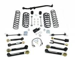 "Jeep TJ Wrangler 97-06 - TeraFlex - TeraFlex - TeraFlex TJ 4"" Lift Kit w/ Flex Arms , Front Track Bar (Ships in 3 Boxes)"