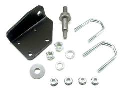 Suspension Build Components - Steering - TeraFlex - TeraFlex Steering Stabilizer Mounting Bracket Kit Skin Pack  -1510000