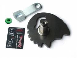 TeraFlex - Low Range Products - TeraFlex - TeraFlex TJ 2LOW Shift Sector Kit w/ Shift Lever for 241OR  -2246900
