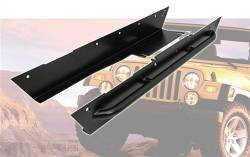Rocker Armor - Jeep Wrangler TJ / LJ 97-06 - TRAIL-GEAR - TRAIL-GEAR Rock Slider Kit, Jeep Wrangler TJ with Tube    -120009-2-KIT