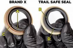 TRAIL-GEAR Trail Safe Inner Axle Seals  -140325-1-KIT