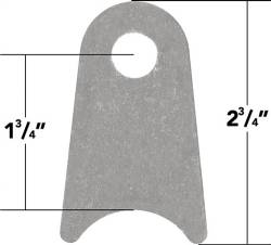 "TOYOTA - Miscellaneous - TRAIL-GEAR - TRAIL-GEAR Weld On Coped Tabs Offset, 1.75"" Cope"