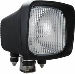 "HID WORK - 6600 SERIES - VISION X Lighting - Vision X 6"" X 6"" SQUARE BLACK 50 WATT HID FLOOD, SPOT LAMP     -HID-6601-6602"
