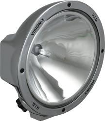 "HID OFFROAD - 8500 SERIES 35 WATT - VISION X Lighting - Vision X 8.7"" ROUND CHROME 35 WATT HID EURO OR SPOT LAMP   -HID-8500C-8502C"