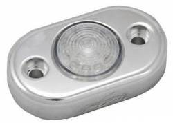 ACCENT LIGHTING - BILLET PODS - VISION X Lighting - Vision X FLAT MOUNT LED BILLET POD - AVAILABLE IN AMBER, BLUE, GREEN, RED OR WHITE   -HIL-DLF