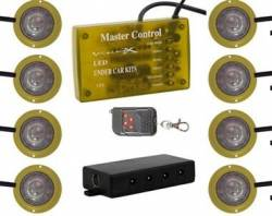 VISION X Lighting - Vision X LED STROBE AND ROCK LIGHT KIT - AVAILABLE IN AMBER, BLUE, GREEN, RED, WHITE AND MULTI-COLOR  -HIL-ST - Image 3