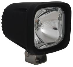 "HALOGEN WORK - 4410-4"" - VISION X Lighting - Vision X 4"" SQUARE BLACK 100 WATT HALOGEN EURO, SPOT, VERTICAL-FLOOD OR HORIZONTAL-FLOOD LAMP       -VX-4401"