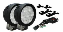 VISION X Lighting - Vision X 07-11 TOYOTA TUNDRA FACTORY FOG UPGRADE FIT UTILITY SERIES LEDS    -XIL-OE0711TT
